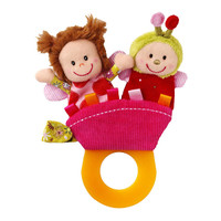HABA Liz Teething Rattle