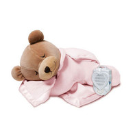 Prince Lionheart Slumber Bear with Silkie- Pink
