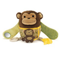 Skip Hop Treetop Friends Hug & Hide Monkey Activity Toy