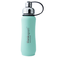 ThinkBaby thinksport Insulated Sports Bottle 17oz - Coated Mint Green