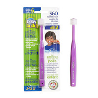 Baby Buddy 360 Toothbrush Stage 6 - Purple