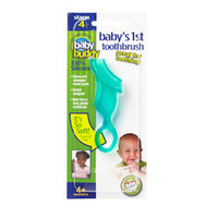 Baby Buddy Baby's 1st Toothbrush - Green