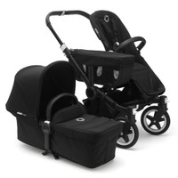 Bugaboo Donkey2 Base Fabrics - Black Set