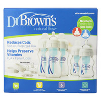 Dr. Brown Wide-Neck Bottle Newborn Feeding Set