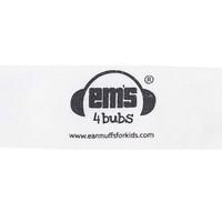 EMS 4 KIDS Earmuffs for Bubs Adjustable Headband - White