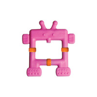 Innobaby EZ Grip Massaging Teether Robot - Pink