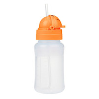 Innobaby Nursin Smart 9oz Silicone Straw Cup - Orange