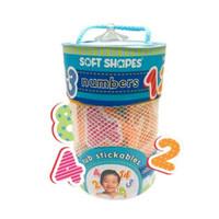innovativeKids Soft Shapes Tub Stickables - Numbers
