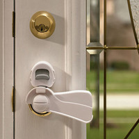 KidCo Door Lever Lock - White