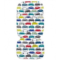 Mamas & Papas Luxury Memory Foam Liner - Traffic Jam