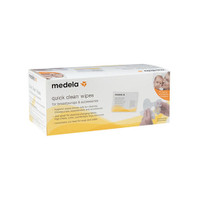 Medela Quick Clean Breast Pump & Accessories Wipe - 40 Single Pack