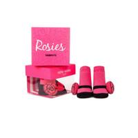 Trumpette Rosie Rattle Sock - 0-12 Months - Fuchsia