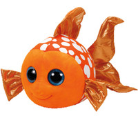 Beanie Babies Beanie Boos Sami Orange Fish - 6in