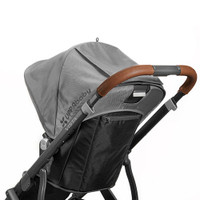 UPPAbaby VISTA Leather Handlebar Cover - Saddle
