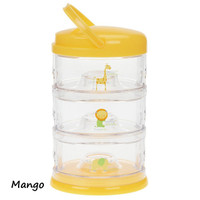 Innobaby Packin' SMART 3 Tier Zoo Animals - Mango