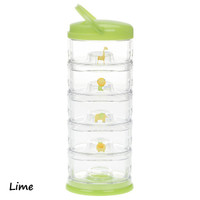 Innobaby Packin' SMART 5 Tier Zoo Animals - Lime