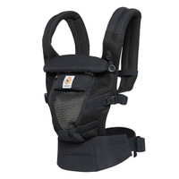 Ergo Baby Adapt Cool Air Mesh Baby Carrier - Onyx Black