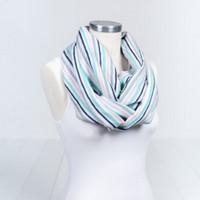 Bebe Au Lait Classic Muslin Nursing Scarf - Candy Stripes