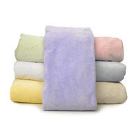 American Baby Company Heavenly Soft Chenille Contoured Changing Table Covers - White