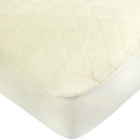 American Baby Company Organic Quilted PortaCrib Mattress Pad