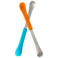 Boon Swap 2-in-1 Feeding Spoon - Blue/Orange
