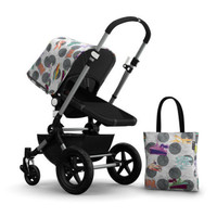 Bugaboo Cameleon3 Andy Warhol Accessory Pack - Globetrotter/Dark Grey