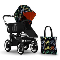 Bugaboo Donkey Andy Warhol Accesory Pack - Marilyn/Orange