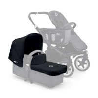 Bugaboo Donkey Tailored Fabric Set Extendable Sun Canopy - Black