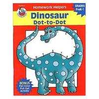 Carson Dellosa Homework Helper Dinosaur Dot To Dot