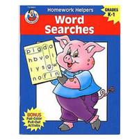 Carson Dellosa Homework Helper Word Searches