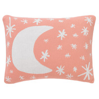 DwellStudio Galaxy Knitted Boudoir Pillow In Blossom