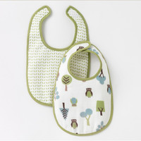 DwellStudio Owls Sky Multi Bib 2pk