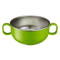 Innobaby Din Din Smart Stainless Dinner Bowl - Green