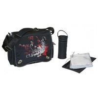 Kalencom Sam's Messenger Bag Black