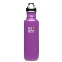 Klean Kanteen 27oz Classic Bottle w/ Loop Cap - Prevention Purple