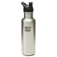 Klean Kanteen 27oz Classic Bottle w/ Sport Cap - Stainless