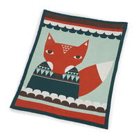 Mamas & Papas Knitted Blanket - Donna Wilson Print Small