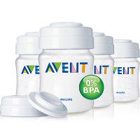Philips Avent Breast Milk Containers 4oz x4 SCF680/04