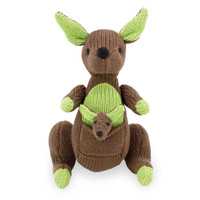 Rich Frog Rattle A Roo - Brown