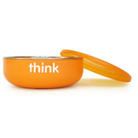 ThinkBaby BPA Free Baby Bowl - Orange