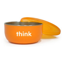 ThinkBaby BPA Free Soup Bowl 6m - Orange