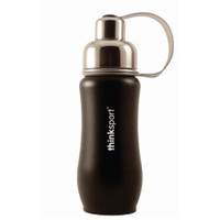 ThinkBaby thinksport Insulated Sports Bottle 12oz - Black