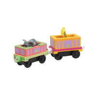 Tomy International Chuggington Wooden Engine - Safari Cars