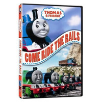 Tomy International Thomas & Friends DVD - Come Ride The Rails