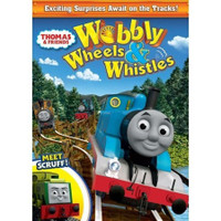 Tomy International Thomas & Friends DVD - Wobbly Wheels & Whistles