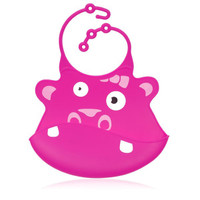 Ulubulu Baby Bib - Gertrude Hippo