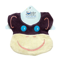 Under The Nile Bear Bib - Monkey