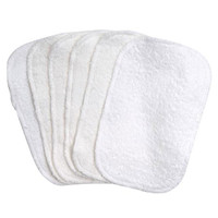 Under The Nile Terry Cloth Baby Wipes 6 pk