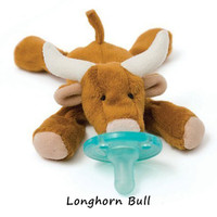 WubbaNub Plush Pacifier - Long Horn Bull