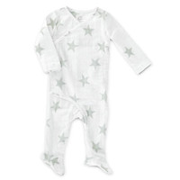 aden + anais Long Sleeve Kimono One-Piece - Silver Star-1